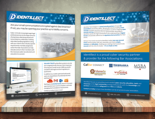 Identillect – Sales Flyer