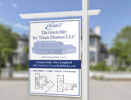 Titan Homes – Real Estate Signage